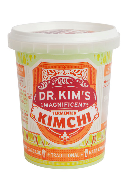 Dr Kim's Magnificent Kimchi Traditional Spicy 400g x 8