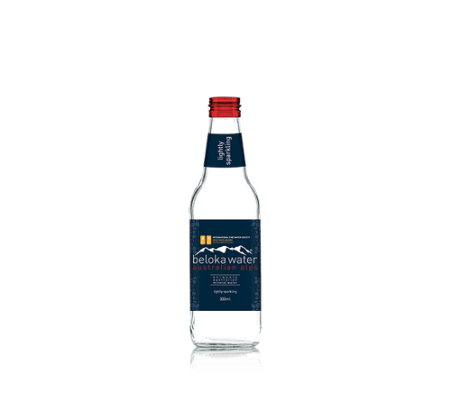 Beloka Water Sparkling Water 330ml x 24