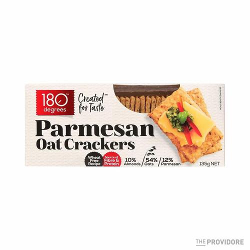 180 Degrees Parmesan Oat Crackers 135g x 12