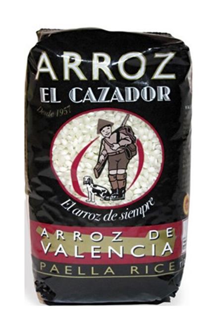 Arroz El Cazador Arroz De Valencia Paella Rice 1kg x 5 Bags