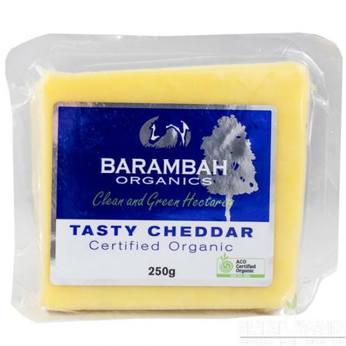 Barambah Organics Cheese Cheddar Block 250g