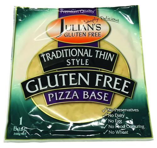 Julian's Gluten Free Pizza Base 250g x 12