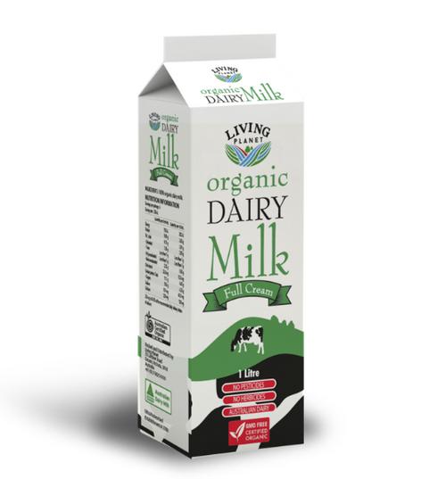 Living Planet Full Cream Milk ESL 1L x 10