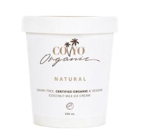 Co Yo Organic Coconut Ice Cream Natural 500ml x 6