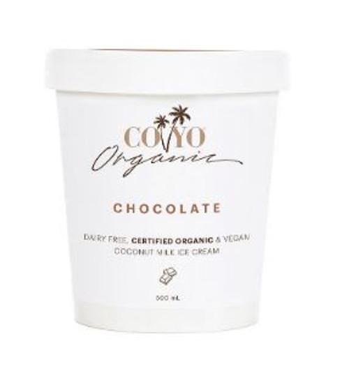 Co Yo Organic Coconut Ice Cream Chocolate 500ml x 6