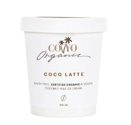 Co Yo Organic Coconut Ice Cream Coco Latte 500ml x 6