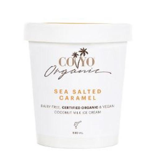 Co Yo Organic Coconut Ice Cream Sea Salted Caramel 500ml x 6