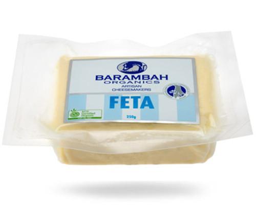 Barambah Organics Cheese Feta (Vacuum Pack) 250g