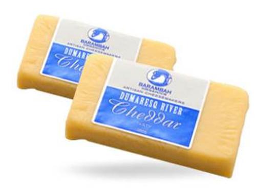 Barambah Organics Cheese Cheddar Sliced 210g
