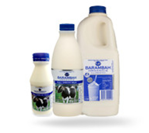 Barambah Organics Full Cream Milk 1L (Pre-Order Item)