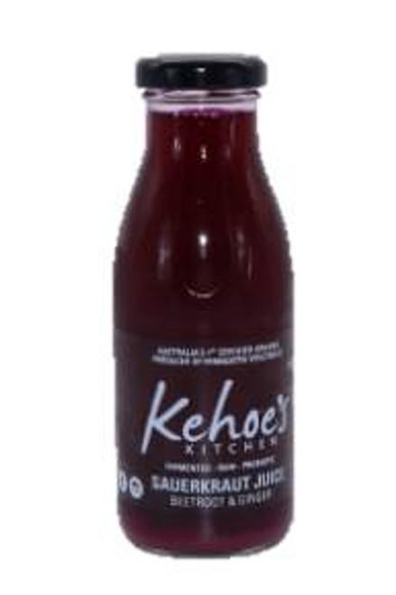Kehoe's Kitchen Beetroot & Ginger Sauerkraut Juice 250ml