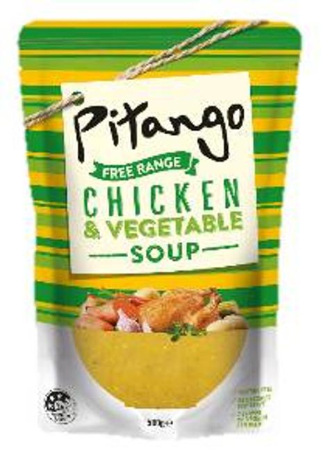 Pitango Organic Chicken & Vegetable, 500g