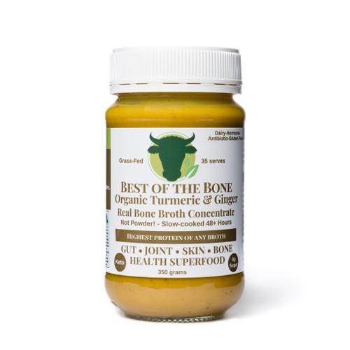 Best of the Bone Org Broth Turmeric Ginger Black Pepper 375g