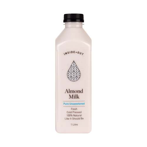Inside Out Almond Milk Unsweetened Fresh 1L x 6