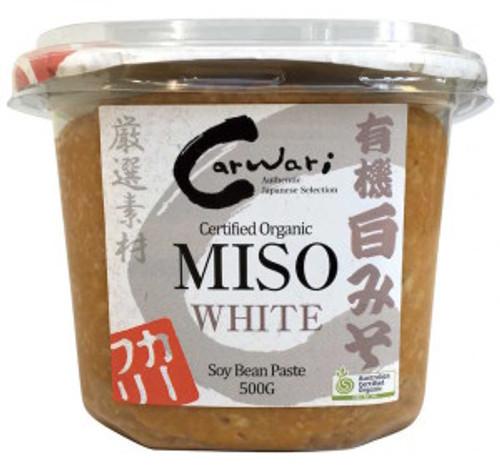 Carwari Miso Soy Bean Paste White 500g x 3