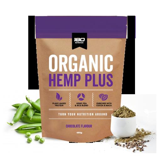 180 Nutrition Organic Hemp Plus Chocolate 480g