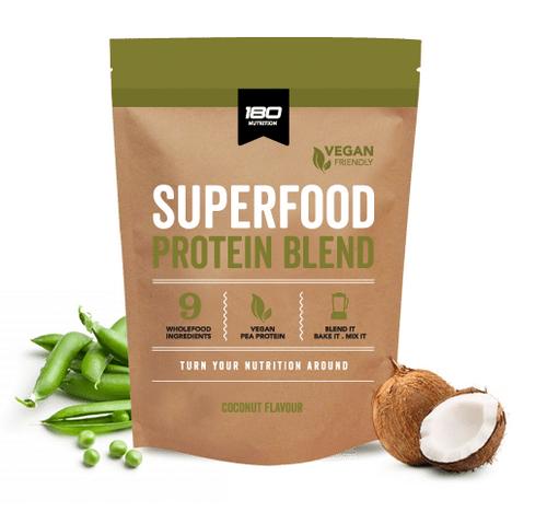 180 Nutrition Superfood Vegan Protein Coconut 1Kg