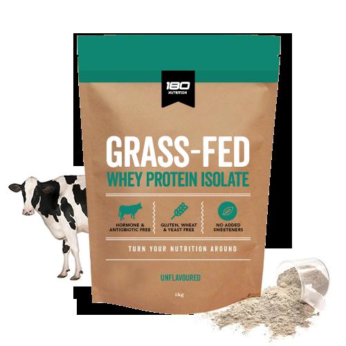 180 Nutrition GrassFed WPI Protein Unflavoured 1kg