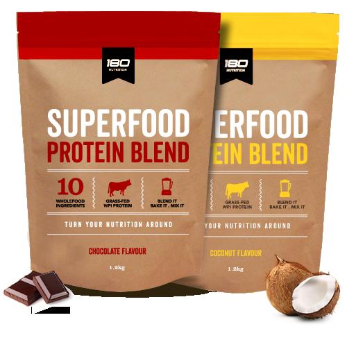 180 Nutrition Wpi Superfood Chocolate 600g