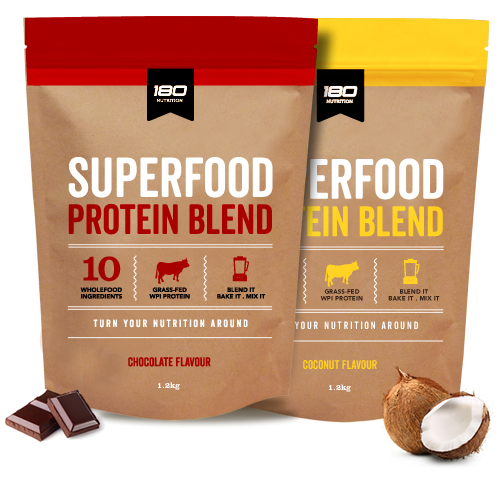 180 Nutrition Wpi Superfood Coconut 600g