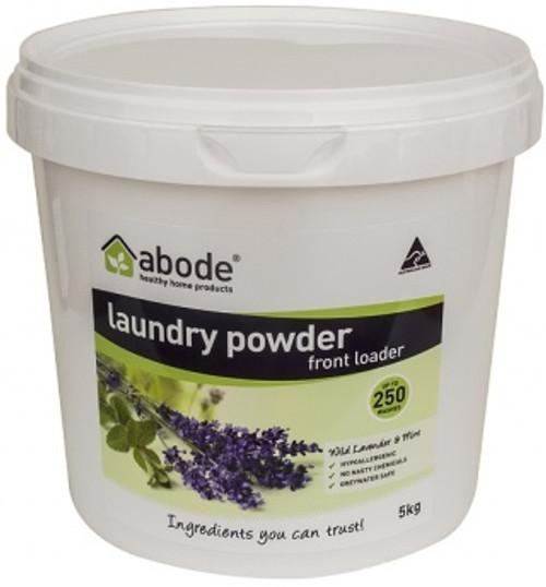 Abode Front & Top Loader Laundry Powder Lavender & Mint 5Kg