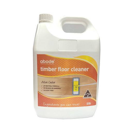 Abode Timber Floor Cleaner Atlas Cedar 5L