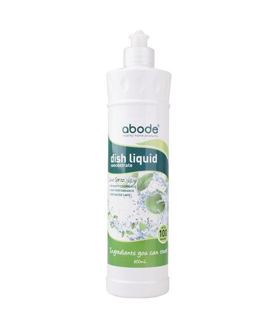 Abode Dishwashing Liquid Lime Spritz 600ml x 6