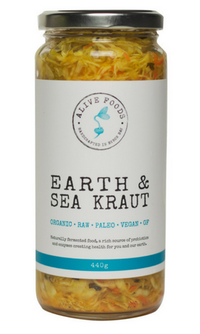 Alive Foods Earth Sea Kraut 440g x 6
