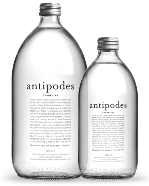 Antipodes Sparkling Water 500ml x 12