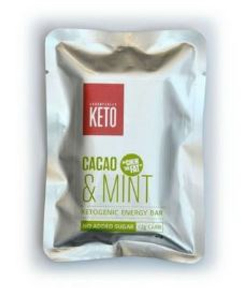 Essentially Keto Cacao & Mint Bars 45g x 12