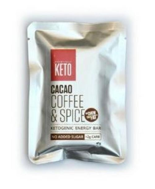 Essentially Keto Coffee & Spice Bars 45g x 12