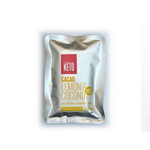 Essentially Keto Lemon & Coconut Bars 45g x 12