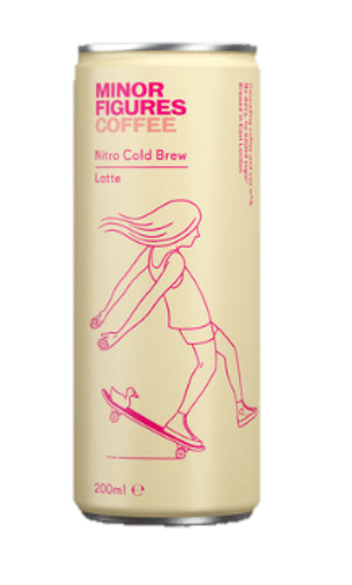 Minor Figures Nitro Latte 200ml x 12
