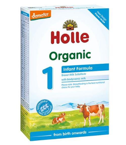 Holle Organic Infant Formula 1 - 400g x 2