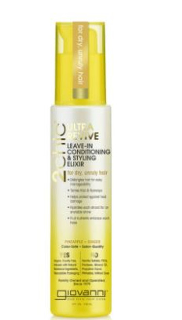 Giovanni 2 Chich Ultra-Revive Leave-In Conditioning & Styling Elixir, 118ml
