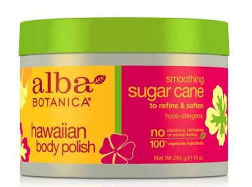 Alba Botanica Hawaiian Body Polish Smoothing Sugar Cane, 284g