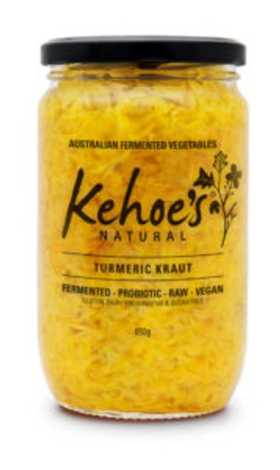 Kehoe's Kitchen Turmeric Sauerkraut 1.95kg