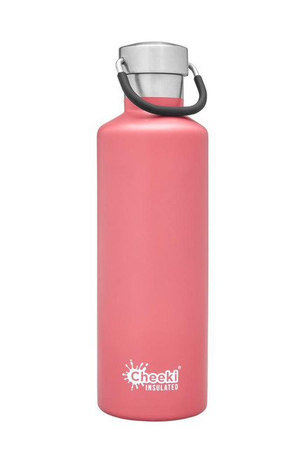 Cheeki Classic 600ml Insulated  Water Bottle Stainless Steel Dusty Pink 25oz
