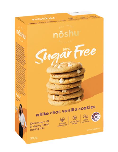 Noshu White Choc Chip Cookie Mix 300g x 5