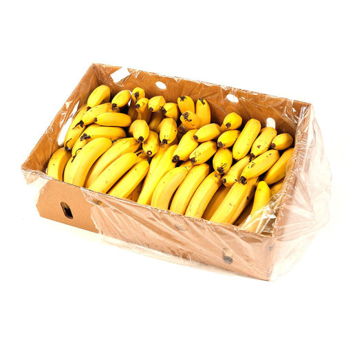 Banana Cavendish Organic Box 13Kg 1/4 Colour (Baston)