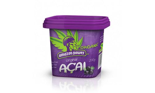 Amazon Power Organic Acai Original Frozen 200g Tub x 24