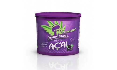 Amazon Power Organic Acai Original Frozen, 10Kg Bucket