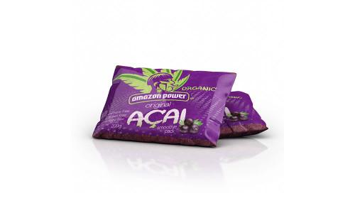 Amazon Power Organic Acai Original Frozen Smoothie Pack 200g x 50
