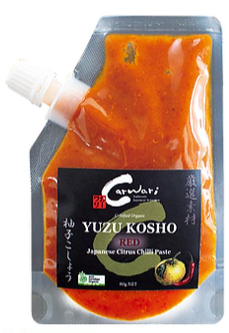 Carwari Yuzu Kosho (Red) 80g x 3
