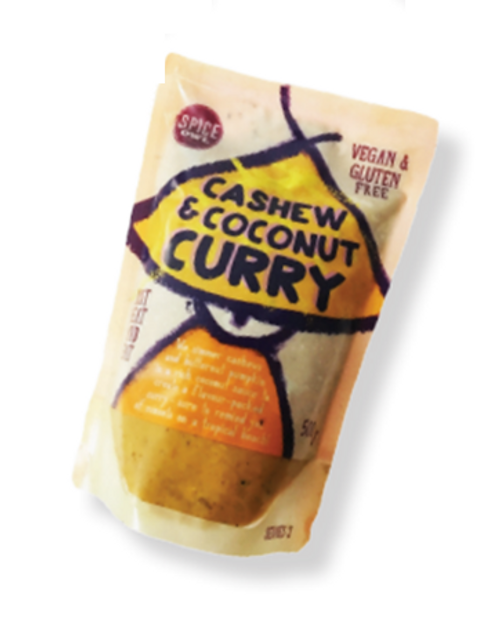 Big Owl Foods Cashew & Coconut Curry 450g x 6