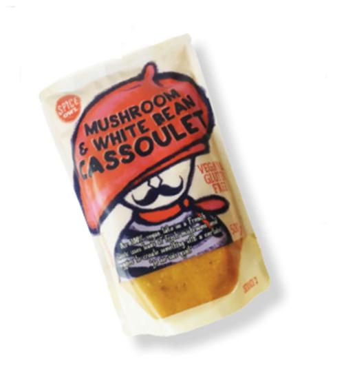 Big Owl Foods Mushroom & White Bean Cassoulet 450g x 6