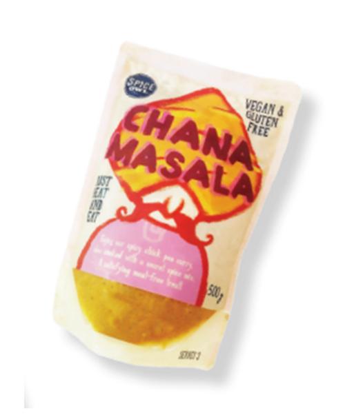 Big Owl Foods Chana Masala 450g x 6