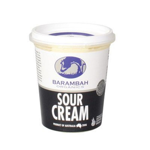 Barambah Sour Cream 200g  (Pre-Order Only)