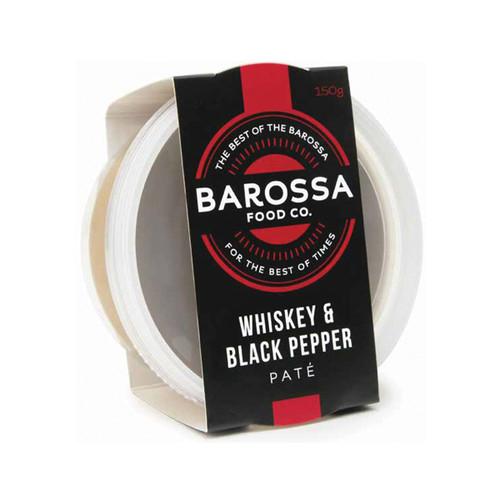 Barossa Food Co Whisky & Black Pepper Pate 120g x 6