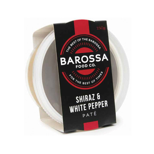 Barossa Food Co Shiraz & White Pepper Pate 120g x 6